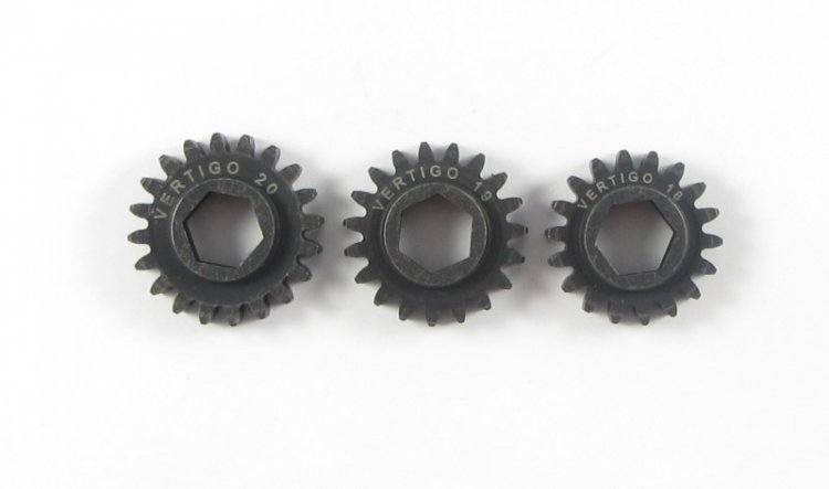 101120 Steel pinion gear (Hex Drive Losi) 20T - Click Image to Close