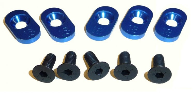 100118 - 18t Inserts Losi 5ive (5) - Click Image to Close