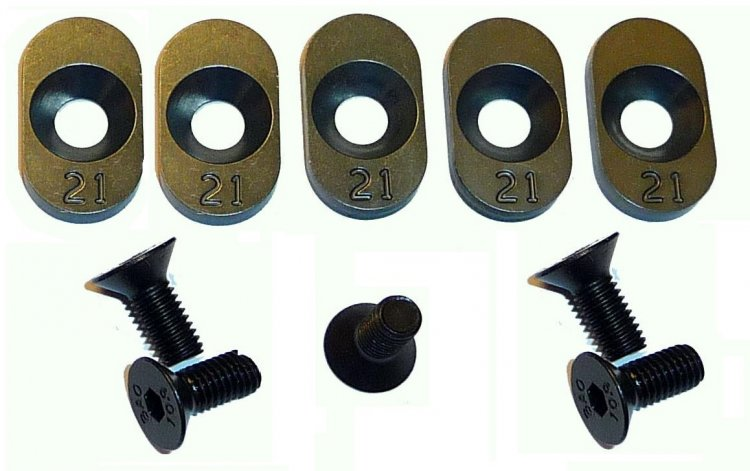 100121 - 21t Inserts Losi 5ive (5) - Click Image to Close