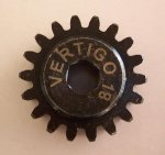 20t Steel pinion gear (7mm hex drive) (HPI Baja)