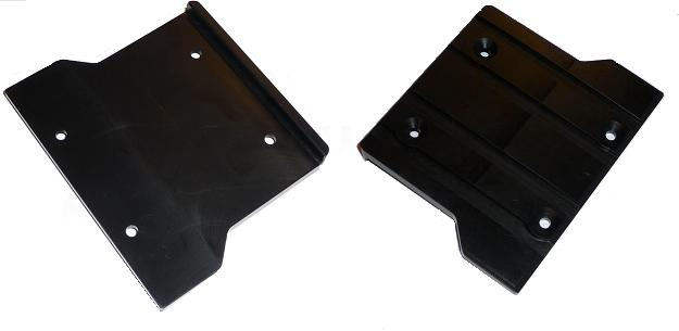 Delrin rear skid plate for EVO II and EVO III $4.95 - Click Image to Close