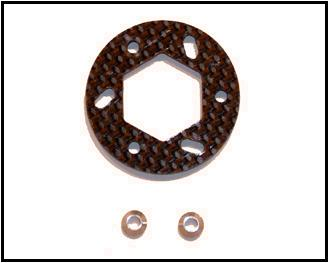 Carbon Brake Disc (Associated MGT) - Click Image to Close