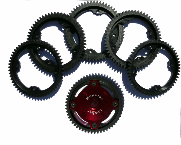 101155 Steel Spur gear (55t) (5IVE-B/5IVE-T) - Click Image to Close