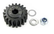 19t Steel pinion gear (7mm hex drive) (HPI Baja)